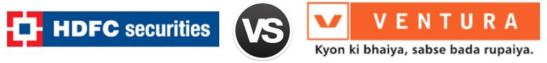 HDFC Securities vs Ventura Securities