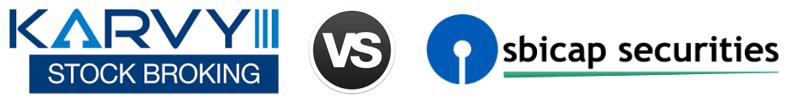 Karvy vs SBI Cap Securities