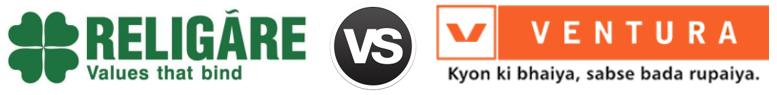 Religare Securities vs Ventura Securities