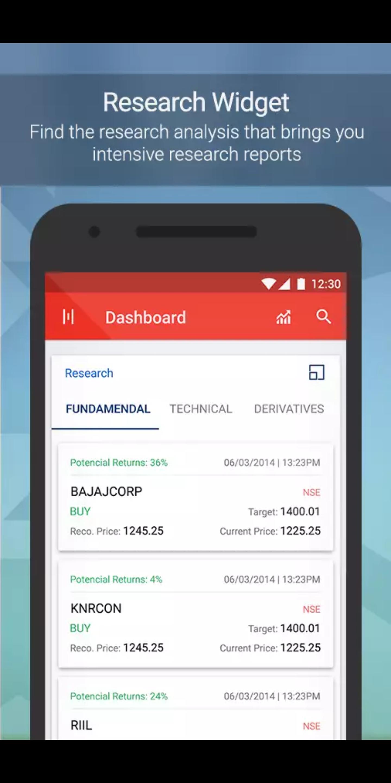 Kotak Securities App Research