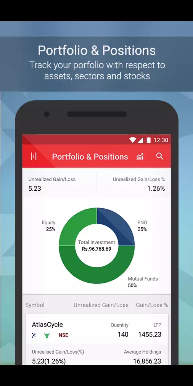 Kotak Stock Trader Portfolio Tracking