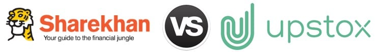Sharekhan vs Upstox