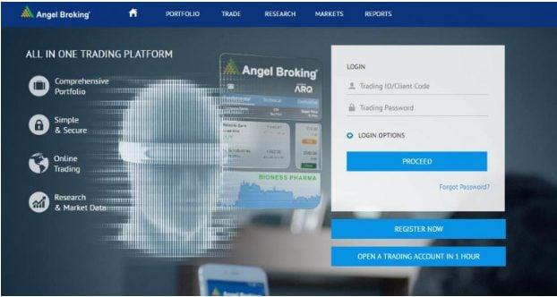 Angel Broking Robo-Platform