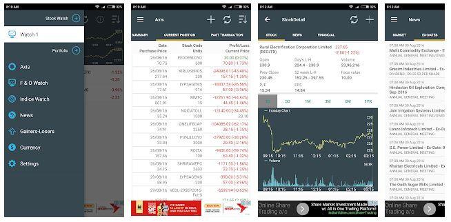 Stock Market Live App