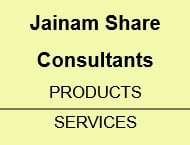 Jainam Share Consultants Products & Services