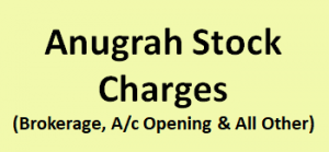 Anugrah Stock Charges