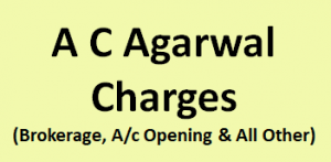 A C Agarwal Share Charges