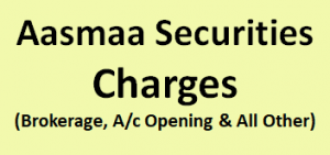 Aasmaa Securities Charges
