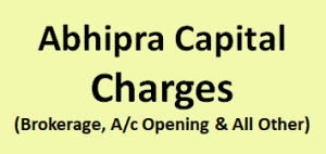 Abhipra Capital Charges