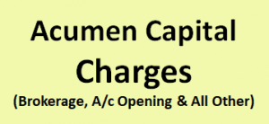 Acumen Capital Charges