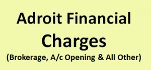 Adroit Financial Charges