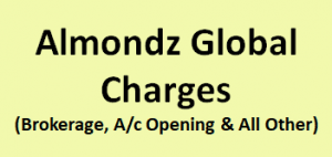 Almondz Global Securities Charges