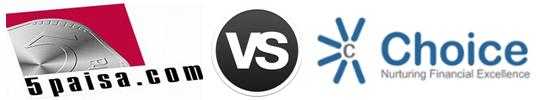 5Paisa vs Choice Broking