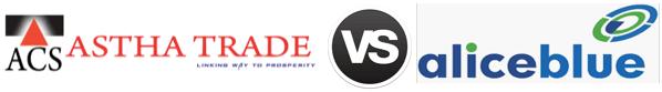 Asthatrade vs Alice Blue Online