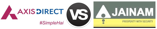 Axis Direct vs Jainam Share Consultants