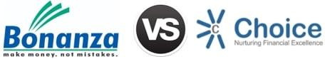 Bonanza Portfolio vs Choice Broking