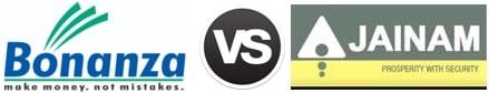 Bonanza Portfolio vs Jainam Share Consultants