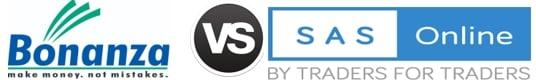 Bonanza Portfolio vs SAS Online
