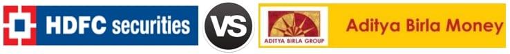HDFC Securities vs Aditya Birla Money