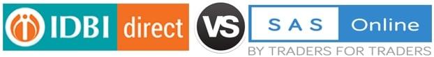 IDBI Direct vs SAS Online