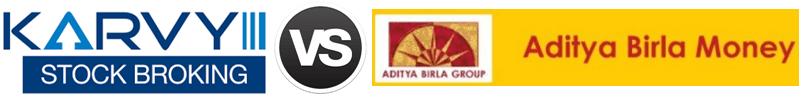 Karvy vs Aditya Birla Money