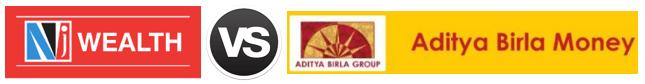 NJ Wealth vs Aditya Birla Money