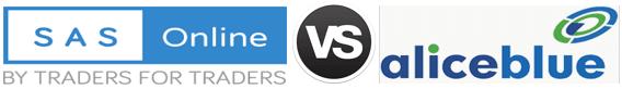 SAS Online vs Alice Blue Online