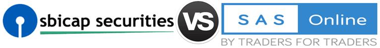SBI Cap Securities vs SAS Online