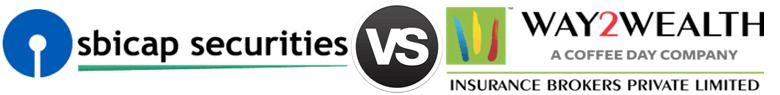 SBI Cap Securities vs Way2Wealth
