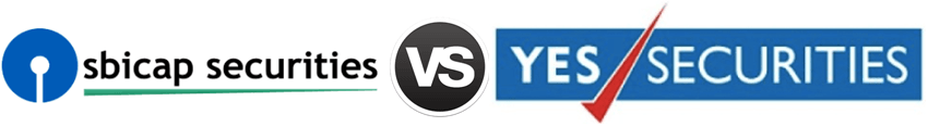 SBI Cap Securities vs Yes Securities