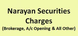Narayan Securities Charges