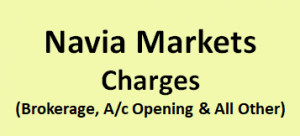 Navia Markets Charges