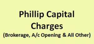 Phillip Capital Charges