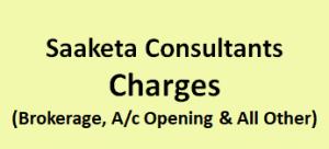 Saaketa Consultants Charges