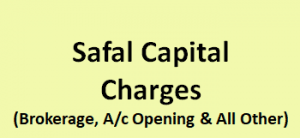 Safal Capital Charges