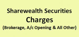 Sharewealth Securities Charges