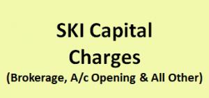 SKI Capital Charges