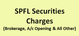 SPFL Securities Charges