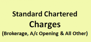 Standard Chartered Securities Charges
