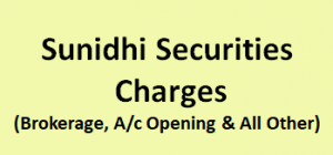 Sunidhi Securities Charges