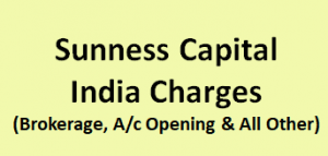 Sunness Capital India Charges