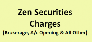 Zen Securities Charges