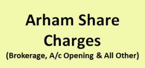 Arham Share Consultants Charges