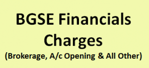 BGSE Financials Charges