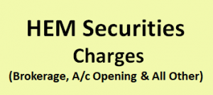 HEM Securities Charges