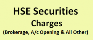 HSE Securities Charges