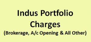 Indus Portfolio Charges