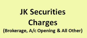 JK Securities Charges