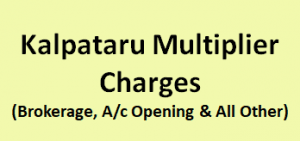 Kalpataru Multiplier Charges