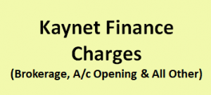 Kaynet Finance Charges